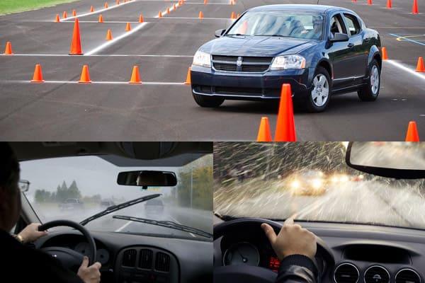 вождения
