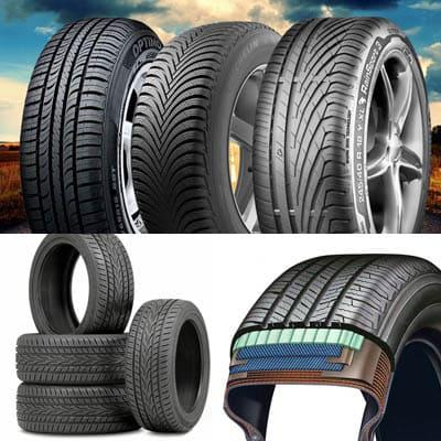 Из каких частей состоит колесо для автомобиля?